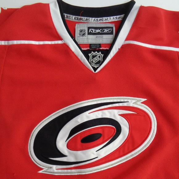 Carolina Hurricanes NHL Reebok Youth Jersey L XL. M 5b9153838ad2f975c5d4d3c8 270540474
